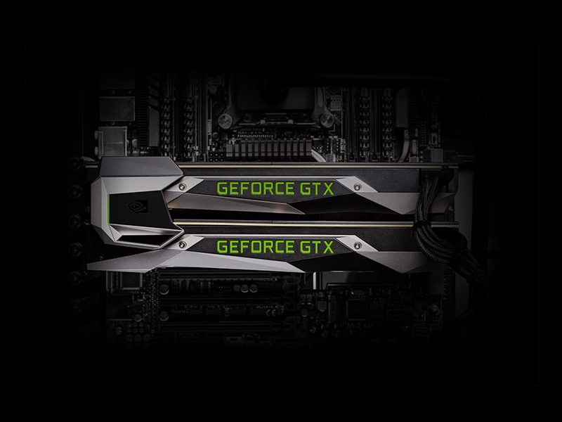 GeForce GTX 1080 - sli bridge