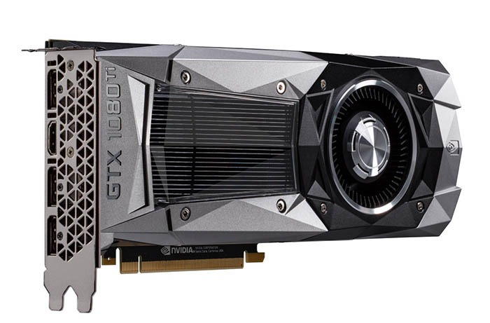 GeForce GTX 1080Ti left