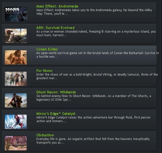 Nvidia Ansel - Games 1