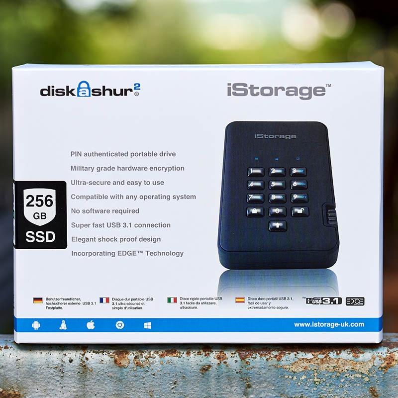 iStorage diskAshur 2 SSD (16)