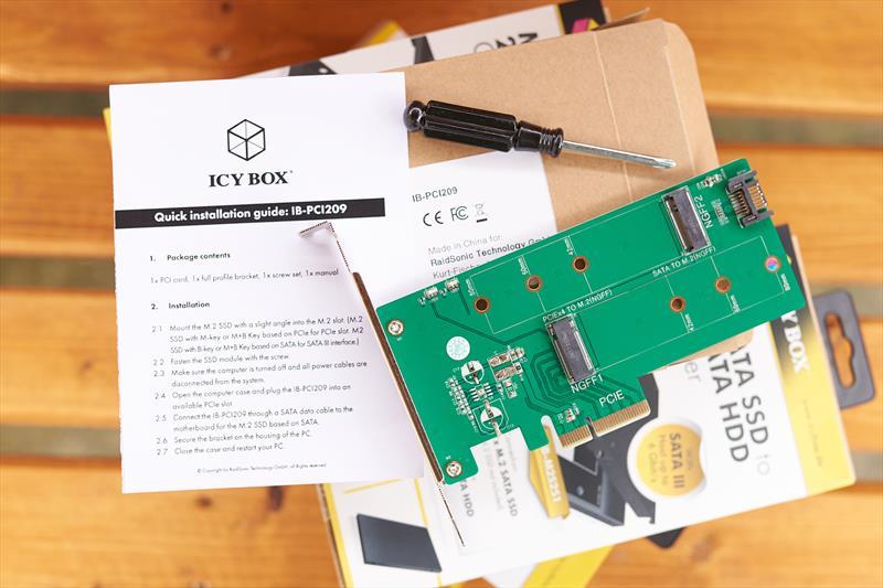 Adaptoare SSD Icy Box (8)