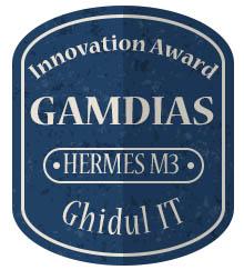 Badge Inovation Gamdias Hermes M3