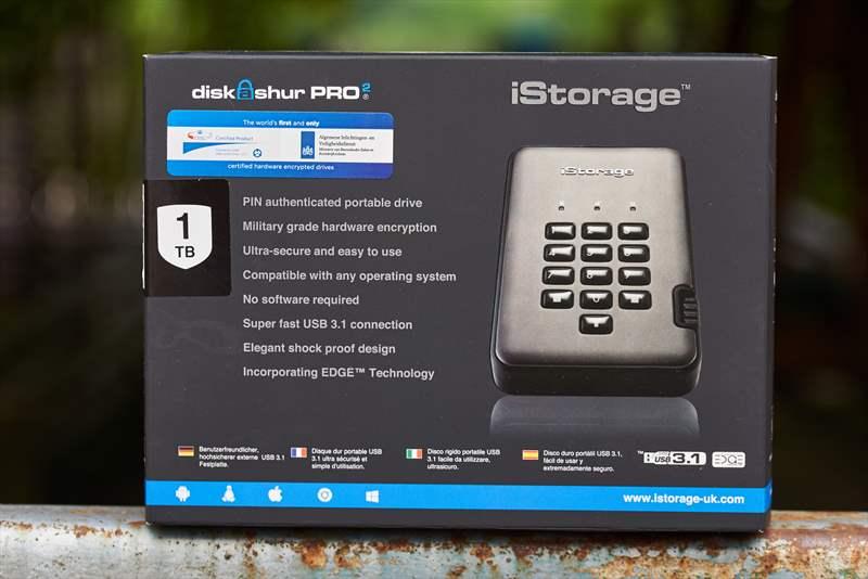 iStorage diskAshur 2 Pro HDD (2)