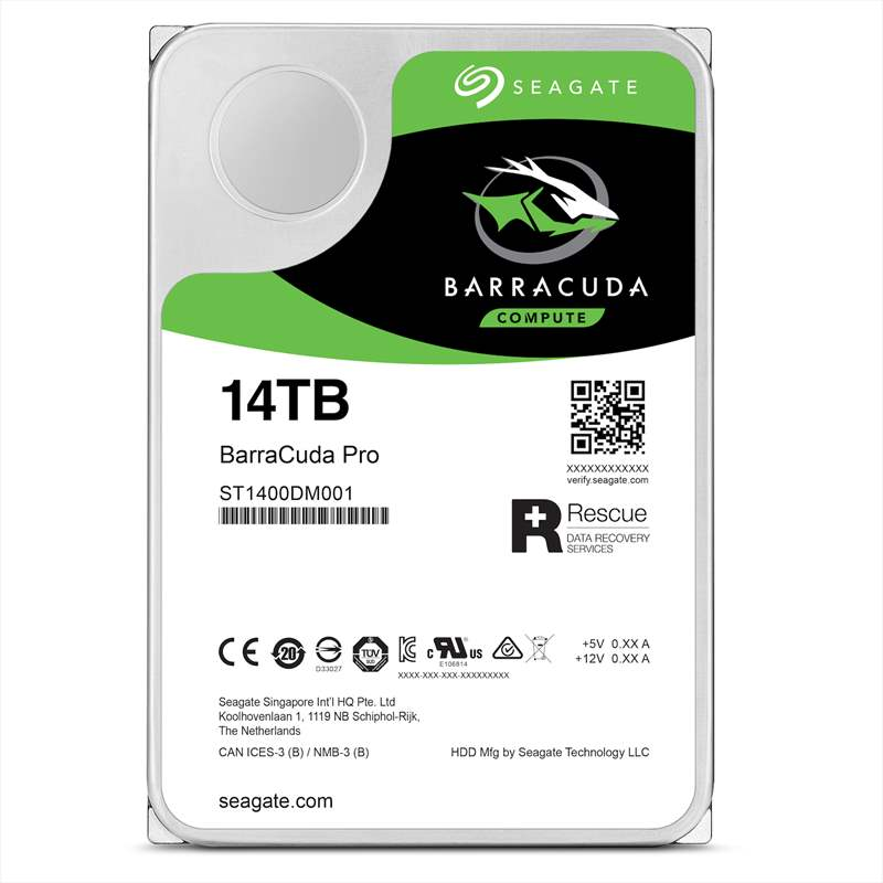 Seagate Barracuda Pro 14 TB