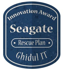 Badge Inovation - Seagate Rescue Plan
