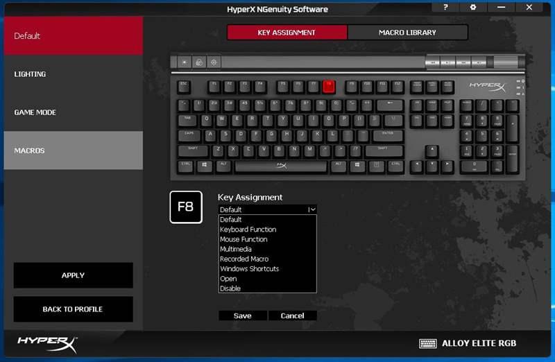 HyperX Alloy Elite RGB - 6