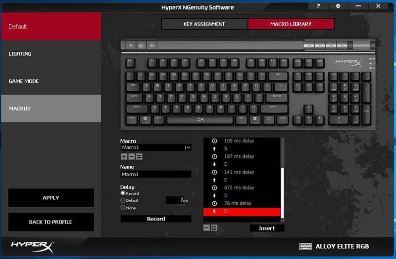 HyperX Alloy Elite RGB - 7