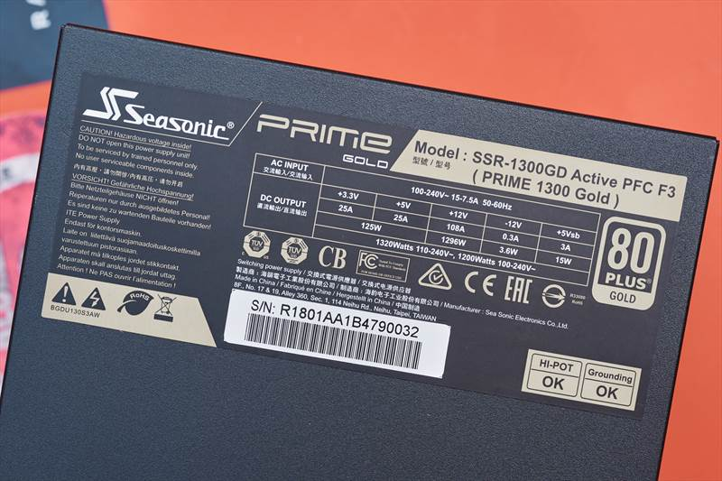 Seasonic Prime 1300W Gold (14)