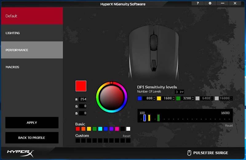 HyperX FPS Surge 3